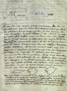 La corrispondenza di Carlo Allioni (1728 1804) - dettaglio